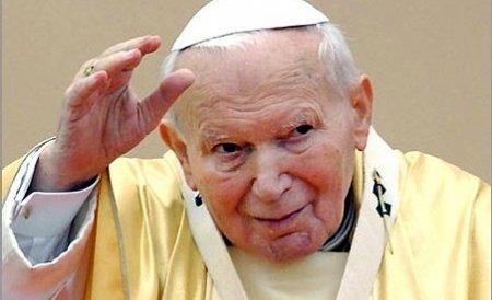Un bust al Papei Ioan Paul al II-lea va fi dezvelit la Bucureşti luni seară
