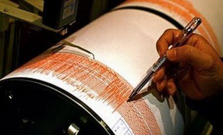 Un cutremur de 3,1 pe scara Richter s-a produs în zona Vrancea