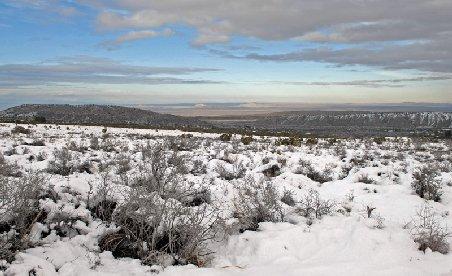 Incredibil: Ninsori abundente şi zăpadă de 15 centimetri în deşertul Atacama din Chile