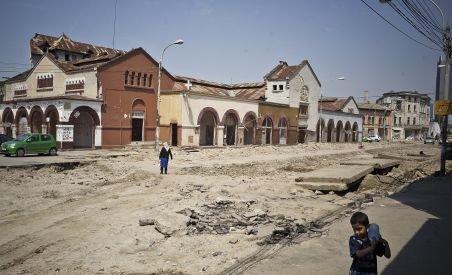 Bulevardul Uranus va ocoli Hala Matache: Monumentul istoric va fi restaurat, nu demolat