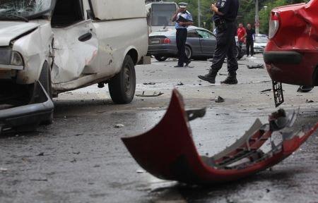 Fiul minor al unui consilier PDL din Tulcea, cercetat penal după accidentul în lanţ provocat în Capitală