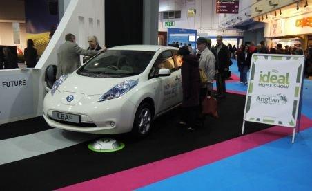 Maşinile electrice ar putea fi alimentate doar cu ajutorul unei platforme fără cabluri