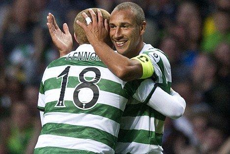 Henrik Larsson, vedeta unui meci caritabil între legendele lui Celtic Glasgow şi Man. United