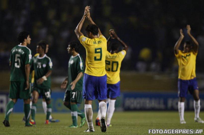 Brazilia şi Spania se vor întâlni în sferturile de finală ale CM Under-20