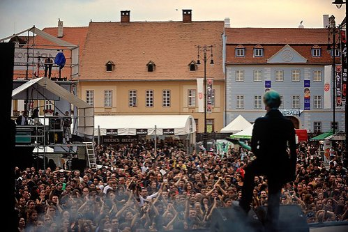 Sibiul - capitala muzicii rock pentru două zile. Vezi aici cine cântă