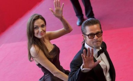 Brad Pitt şi Angelina Jolie au închiriat un tren întreg pentru o deplasare