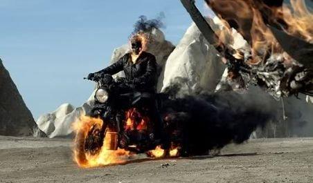 """Filmul """"Ghost rider 2"""" ar putea avea premiera mondială în România"""