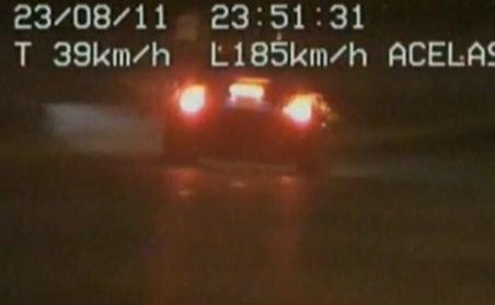 Şofer de 24 ani, prins de radar cu 185 km/h în Bucureşti
