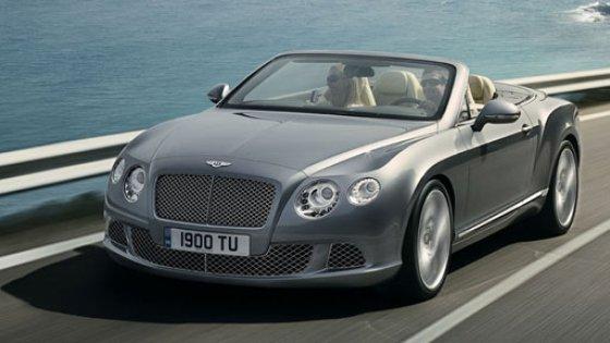 Topless în stil Bentley Continental GTC