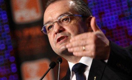 Boc vrea capul şefului de la Agenţia de Protecţie a Mediului pentru că România riscă să piardă sute de milioane de euro