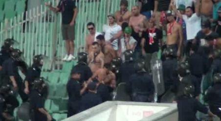 Cei cinci suporteri stelişti, reţinuţi de poliţiştii bulgari, au fost eliberaţi. Vezi ce amenzi au primit