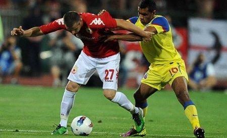Cinci suporteri stelişti, reţinuţi de poliţia bulgară la meciul TSKA Sofia - Steaua Bucureşti