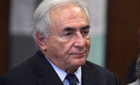 Fostul director al FMI, Strauss Kahn, a revenit la sediul instituţiei pentru a-şi lua rămas bun