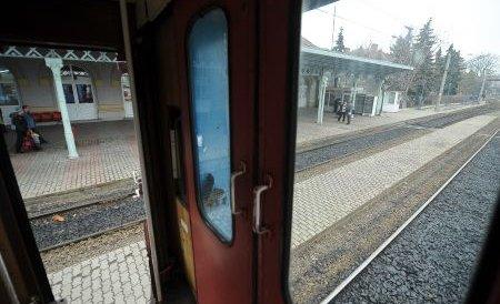 Bărbat călcat de tren, după ce a adormit în apropierea liniilor de cale ferată