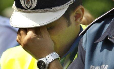 Poliţiştii implicaţi într-un accident rutier grav au intervenit în urma unei informaţii false