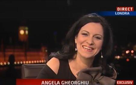 Soprana Angela Gheorghiu: Am câteva proiecte în România. Vreau să vin cât mai repede la Bucureşti