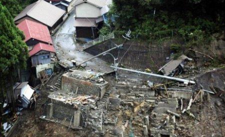 Taifunul Talas a părăsit Japonia:  Au murit cel puţin 37 de persoane, iar 50 sunt date dispărute