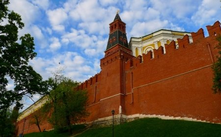 Un rus beat a fost arestat, după ce a încercat să escaladeze zidul Kremlinului