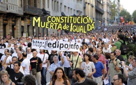 Noi proteste cu mii de manifestanţi în Spania şi Italia, faţă de măsurile de austeritate