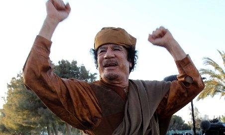 Purtătorul de cuvânt al lui Gaddafi a transmis că fostul lider este în Libia