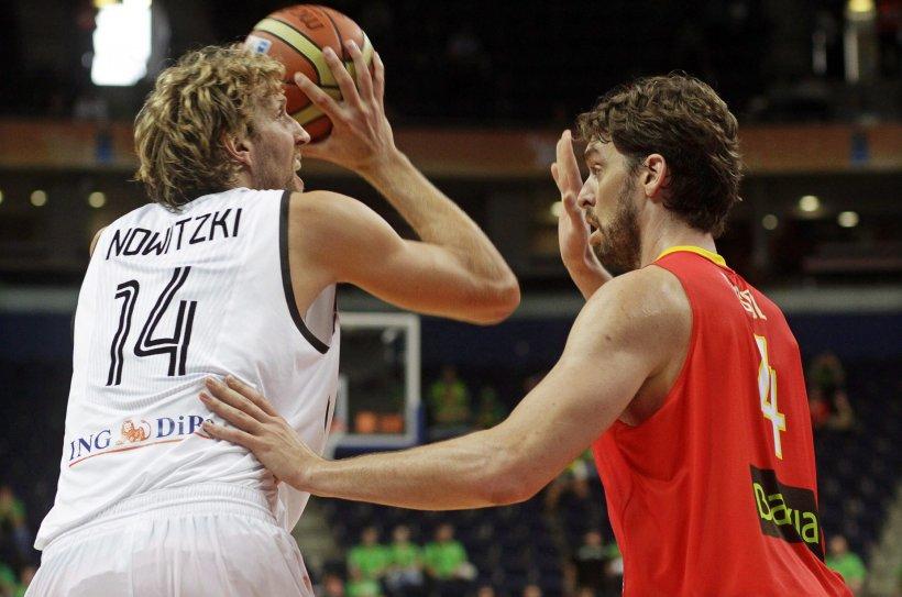 CE de baschet: Germania pierde în faţa Spaniei şi are şanse minime de a merge în sferturi
