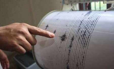 Un cutremur cu magnitudinea 4,4 pe scara Richter s-a produs în zona Vrancea