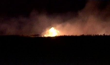 Incendiu în Biosfera Deltei Dunării: 15 hectare de vegetaţie, din Razelm-Sinoie, cuprinse de flăcări