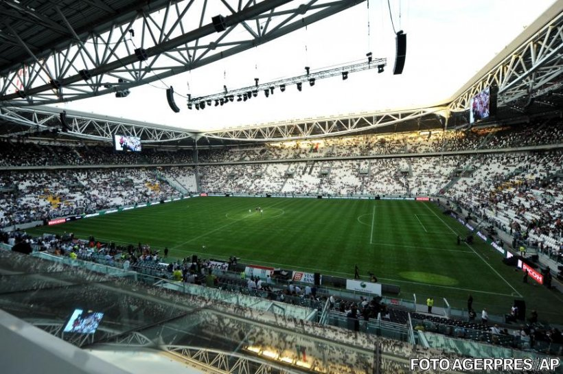 Juventus şi-a inaugurat noul stadion cu un spectacol grandios şi o remiză cu Notts County