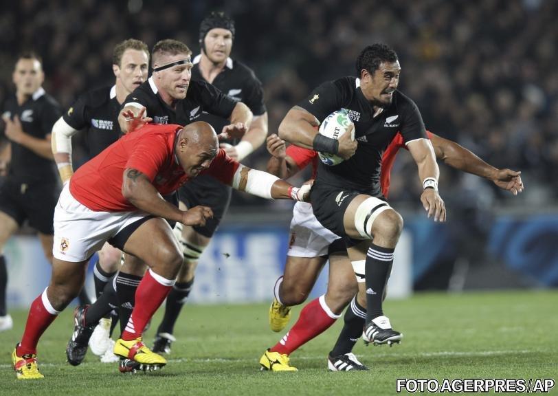 Noua Zeelandă a câştigat meciul de deschidere al Cupei Mondiale de rugby