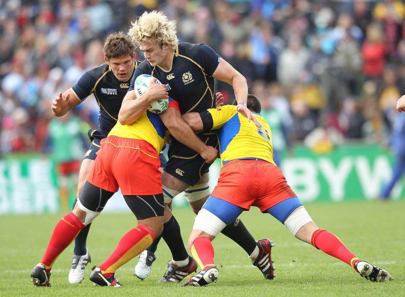 România a trecut pe lângă un succes istoric în meciul cu Scoţia de la Cupa Mondială de rugby