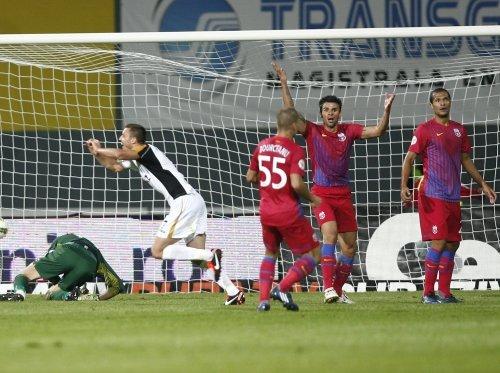 Steaua a pierdut fără drept de apel la Mediaş, 0-3 cu Gaz Metan