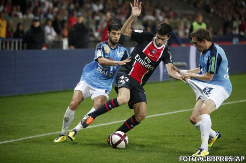 Ligue 1: Pastore înscrie primul gol pentru PSG. Nicoliţă a debutat la St. Etienne