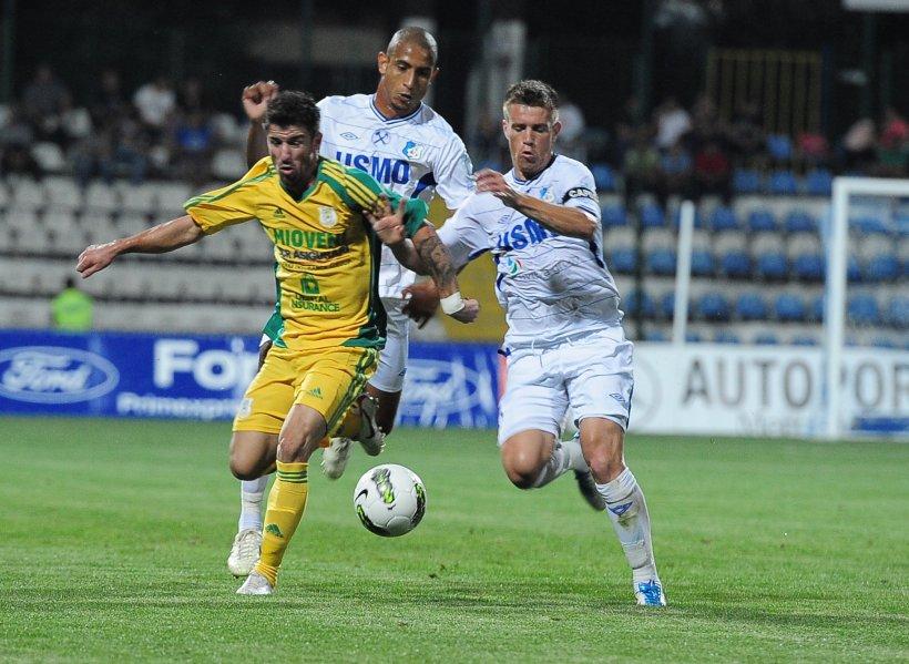Pandurii Tg. Jiu urcă pe locul 4 în Liga I, după 5-1 cu CS Mioveni