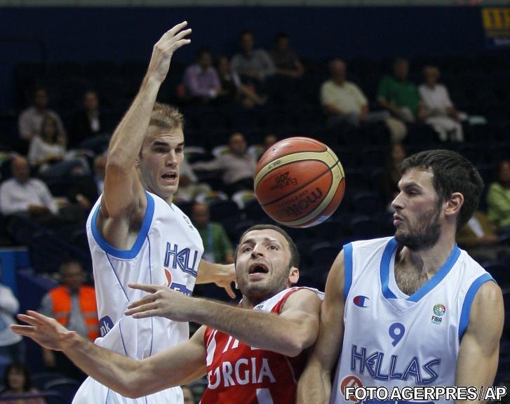 CE de baschet: Grecia şi Slovenia completează tabloul sferturilor de finală