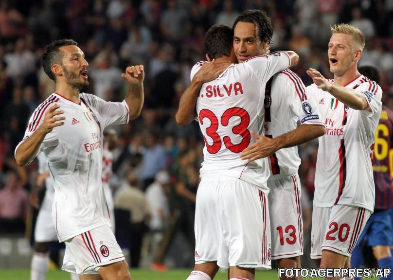 Liga Campionilor: Milan egalează în prelungiri pe Camp Nou, APOEL produce surpriza serii
