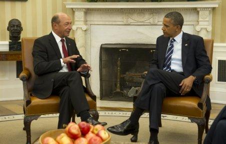 Traian Băsescu a dezvăluit unele dintre subiectele discutate cu preşedintele Obama