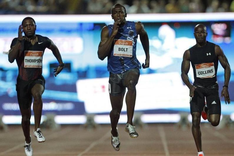 Usain Bolt a trecut peste eşecul de la Mondiale: Jamaicanul a câştigat proba de 100 de metri la Zagreb