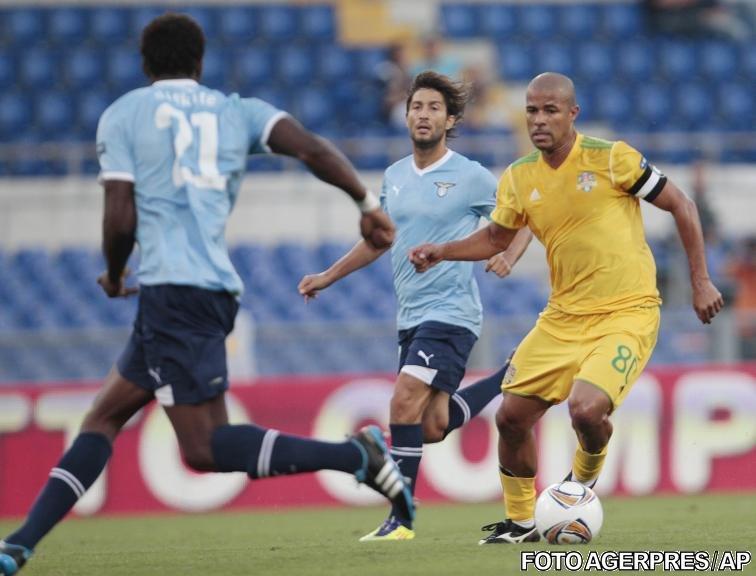 FC Vaslui debutează excelent în grupele Europa League: 2-2 cu Lazio, la Roma