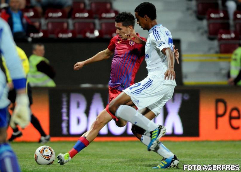 Steaua a remizat la Cluj cu Schalke 04, scor 0-0, în Europa League