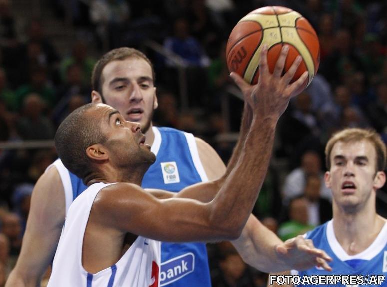 CE de baschet: Franţa şi Rusia s-au calificat în semifinale