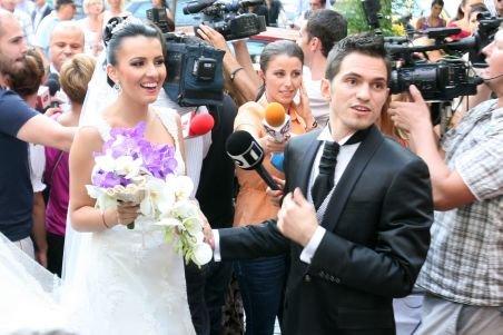 Fiul lui Cornel Dinu s-a căsătorit. Vezi aici momente de la ceremonie