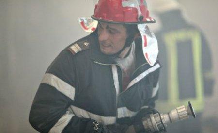 Incendiul de vegetaţie din Delta Dunării continuă să ardă după trei zile