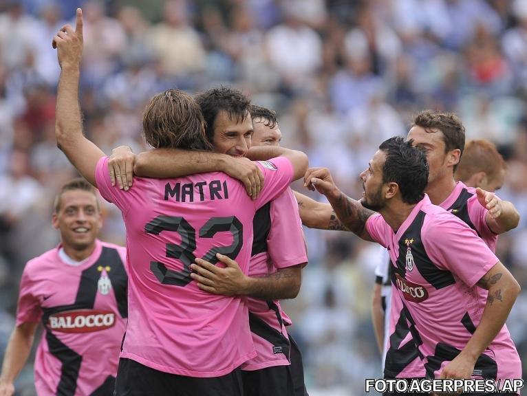 Juventus câştigă cu 1-0 la Siena şi este lider în Serie A