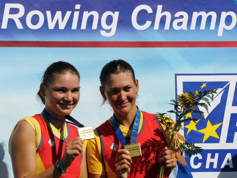 România, campioană europeană la canotaj în proba de dublu rame fără cârmaci feminin