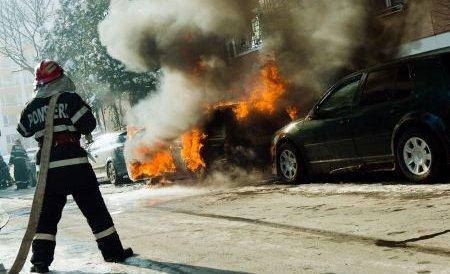 Incendiu la un magazin din Baia Mare: Clienţii şi vânzătorii au fost evacuaţi