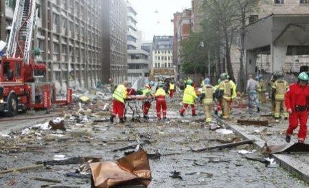 Explozie la un tribunal din Amsterdam. Nu există victime