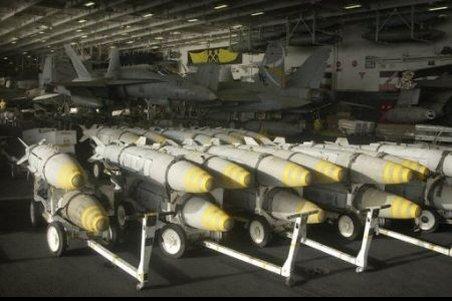 Israelul a cumpărat în secret bombe antibuncăr de la SUA
