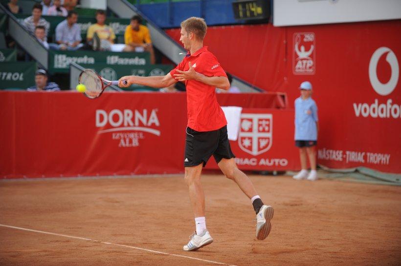 Florian Mayer a câştigat BRD Năstase-Ţiriac Trophy