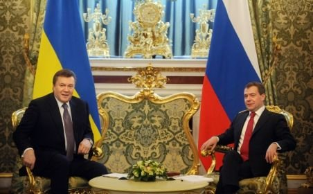 Întâlnire între preşedintele Ucrainei şi cel al Rusiei pentru negocierea unui nou preţ la gaze