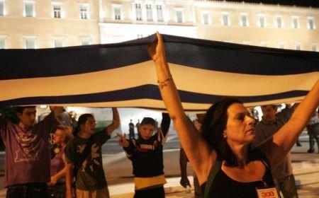 Proteste în Grecia: Un grup de studenţi a ocupat postul public de televiziune